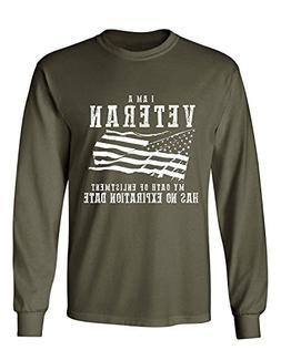 I am A Veteran My Oath Has No Expiration Men's LONG SLEEVE T