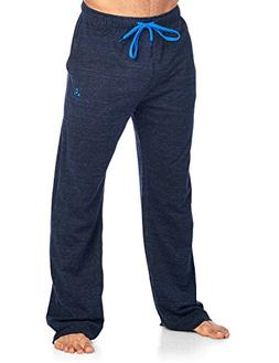 Balanced Tech Men's Jersey Knit Lounge Sleep Pants - Black/R