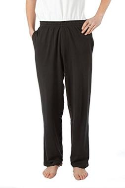 Pembrook Mens Jersey Knit Pants-S-Black