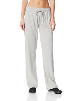 Champion Womens Jersey Pant L Oxford Grey