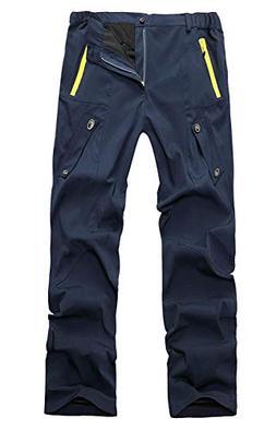 Zarachielly Men's Jogger Casual Pants Breathable Hiking Runn