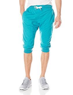 Southpole Men's Jogger Pants Active Basic Capri Solid 3/4 Le