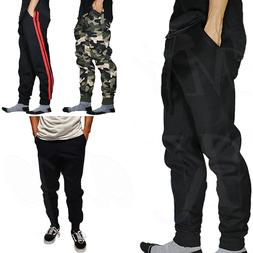 Jogger Pants Men Jogging Slim Fit Fleece Sport Gym Workout S