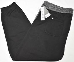 Southpole Jogger Pants Men's Fleece Logo Sweatpants Black Bi