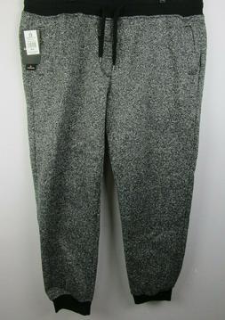 Southpole Jogger Pants Men's Fleece Sweatpants Marled Black
