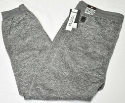 Southpole Jogger Pants Men's Fleece Sweatpants Marled Grey U