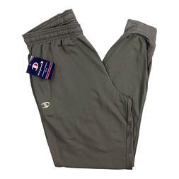 Champion Jogger Sweatpants Gray Mens Size XL Polyester Draws
