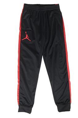 Jordan Big Boys Sport Skinny Jogger Pants , Black/Red)