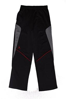 Jordan Big Boys Therma-Fit Basketball Pants , Black/Gym Red/