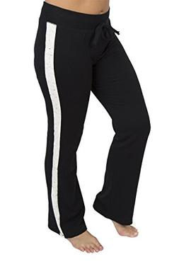 SO Junior's Perfect Dorm Lounge sweat Pant With Side Panel B