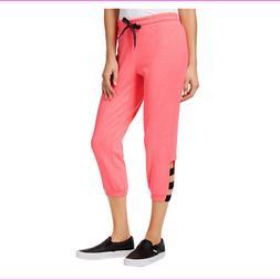 Material Girl Juniors Cropped Heathered Sweatpants