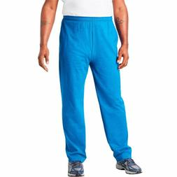 KingSize Men's Big & Tall Lightweight Open-Bottom Sweats
