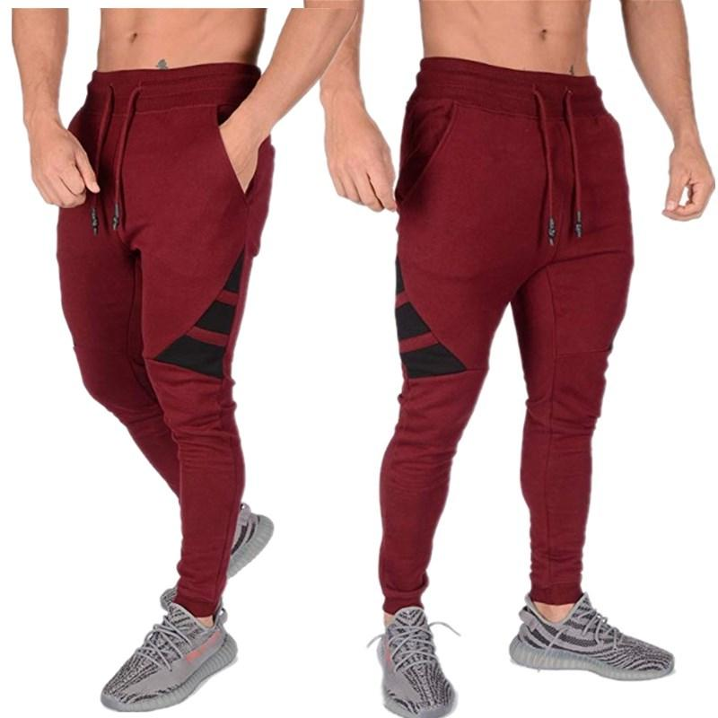 2019 New Thin section Casual Trouser Jogger Fitness Sweat Time <font><b>Sweatpants</b></font>