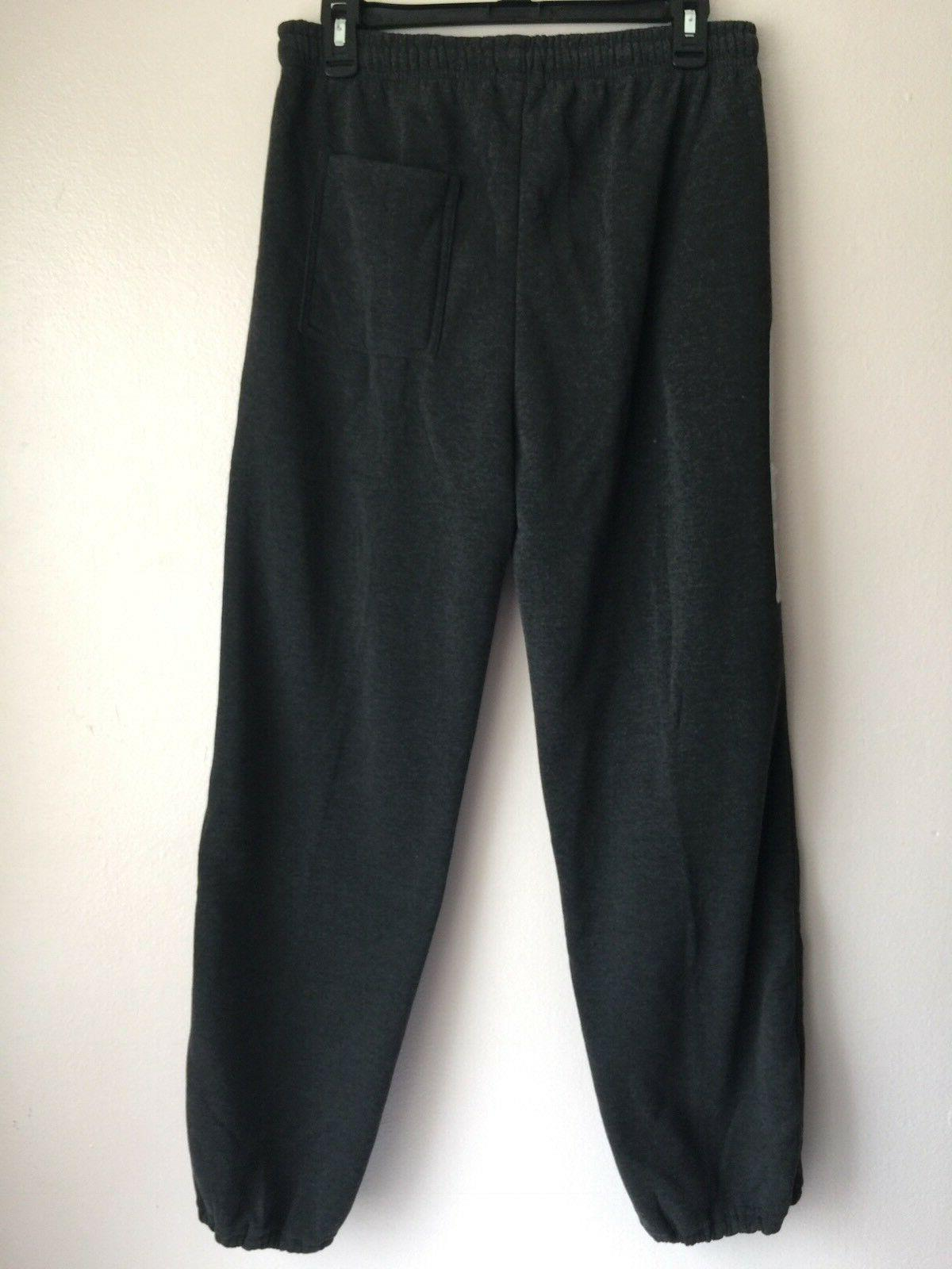 24/7 Mens Sweatpants Size Gray Running Training