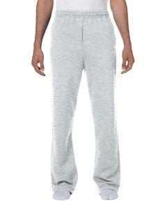 Jerzees 50/50 NuBlend Open-Bottom Sweatpants-M