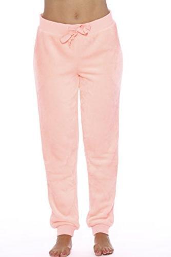 6317 neon coral xs velour pajama pants