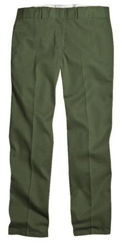 Dickies 874OG 32 34 Mens Plain Front Work Pant Olive Green 3