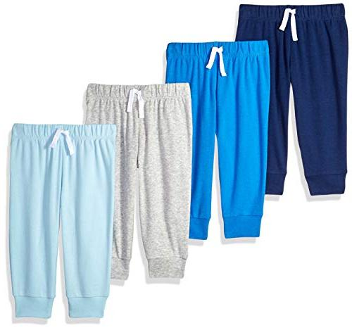baby boys 4 pack pull on pant