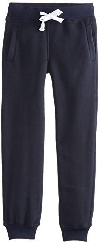Southpole Boys' Big Active Basic Jogger Fleece Pants, Navy,