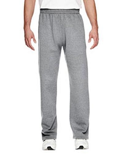 big open bottom fleece pant
