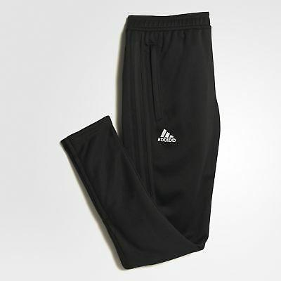 adidas BK0348 Men's 17 Training Pants Athletic Soccer Black Slim