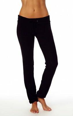 black essental malibu skinny sweatpants xs s