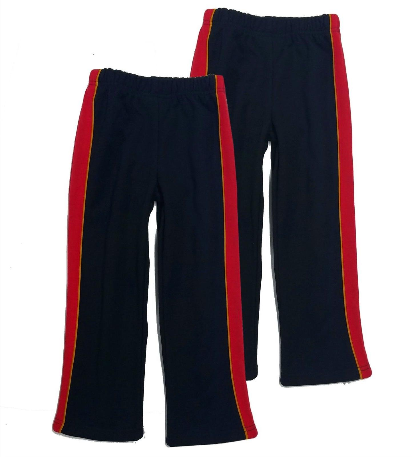 boys 2 pack sweatpants athletic fleece track