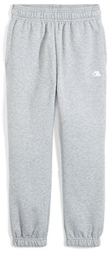 Starter Boys' Elastic-Bottom Sweatpants with Pockets, Amazon