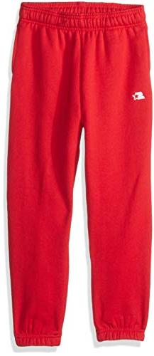Starter Boys' Elastic-Bottom Sweatpants with Pockets, Amazon
