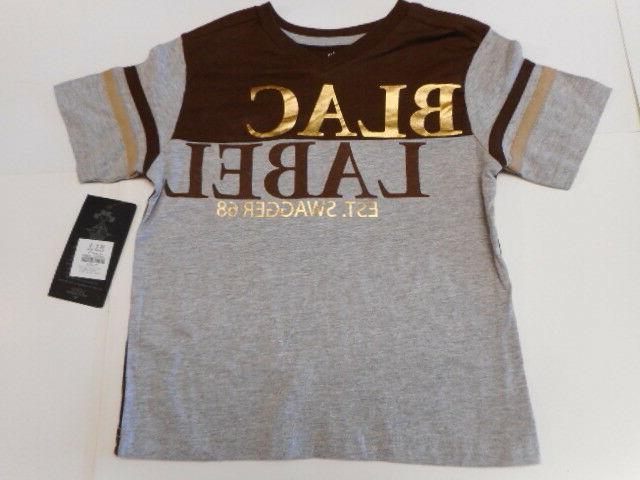 Boys shirts Sweatpants Polo shirts Black Label 5 Styles size