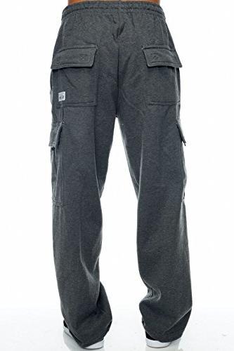 Pro Club Pants Heavy 60/40 , Charcoal)