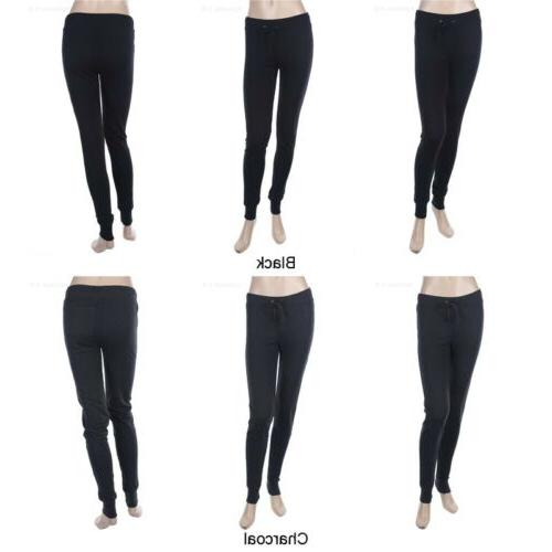 Casual Cotton Pants with Draw Athletic Easy Wear S L