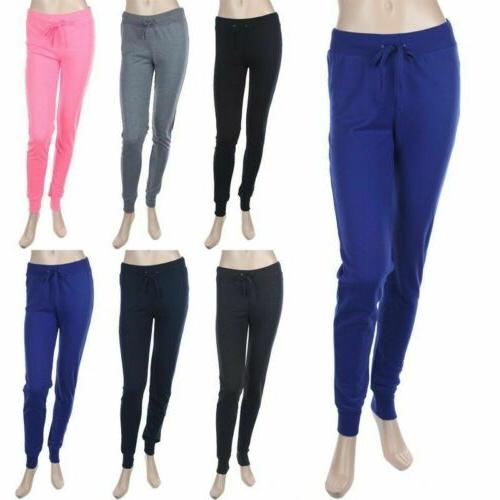casual cotton sweat pants with draw string