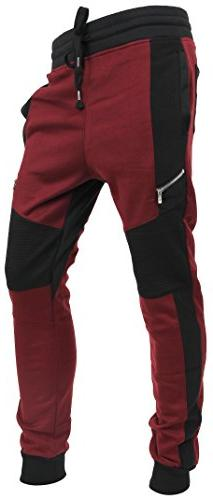 Hat and Beyond Casual Fleece Jogger Pants Active Elastic Urb