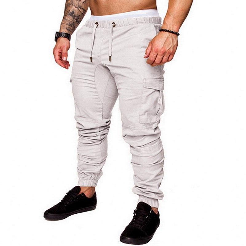MJARTORIA <font><b>Men</b></font> Pants Hip 2019 Male Solid Multi-pocket Homme <font><b>Sweatpants</b></font> Dropshipping
