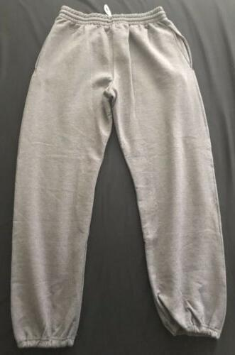 Fruit of the Charcoal Bottom Sweatpants Mens NEW