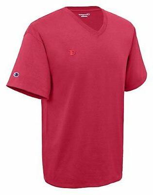 Champion T-Shirt Short Sleeve Cotton Solid sz