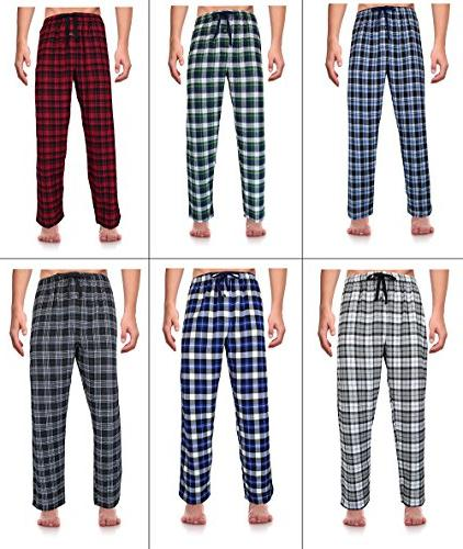 Casual Men's Cotton Pajama Pants, XX-Large Red