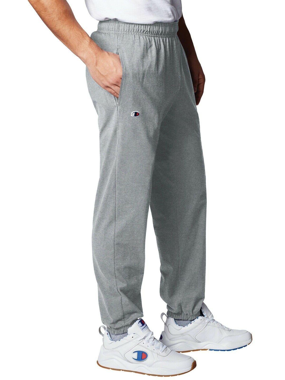 closed bottom light jersey sweatpant
