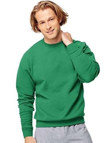 comfortblend long sleeve fleece crew