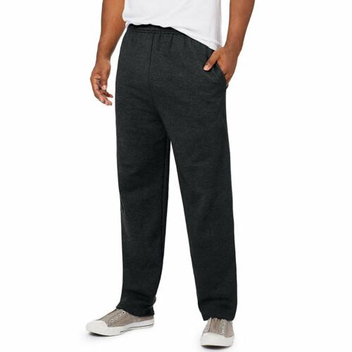 comfortsoft ecosmart men s fleece sweatpants black