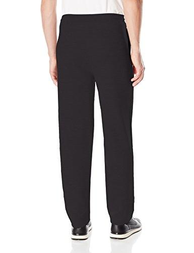 Hanes ComfortSoft3; EcoSmart Fleece Sweatpants Black