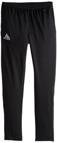 adidas Youth Soccer Core Pants, Black/White, Medium