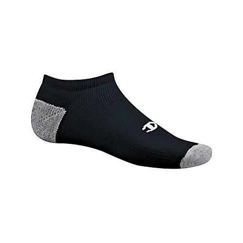 Champion Double Men's No-Show Black,Sock size