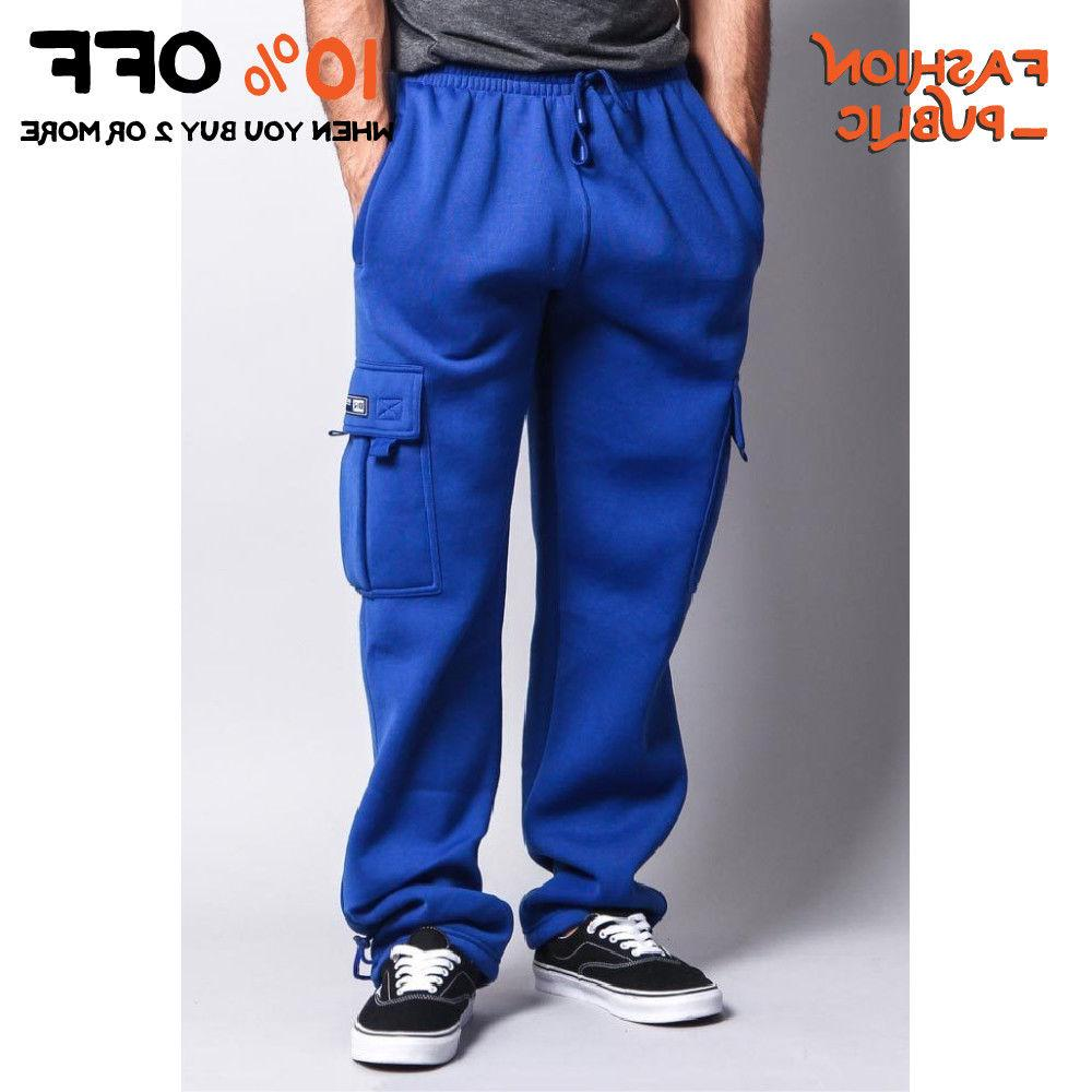 DR MEN'S CARGO SWEATPANTS ACTIVE CARGO PANTS