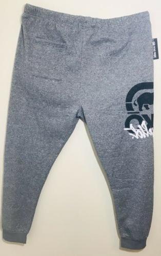 Ecko Ultd Logo Pants Mens 4 Fleece Grey