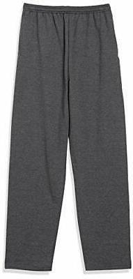Hanes EcoSmart Fleece Sweatpant with Pocket CHARCOAL HEATHER