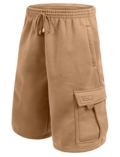 Dream USA Fleece Cargo Shorts Men
