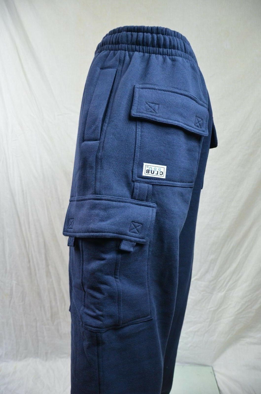 Pro Club Sweatpants Navy Weight