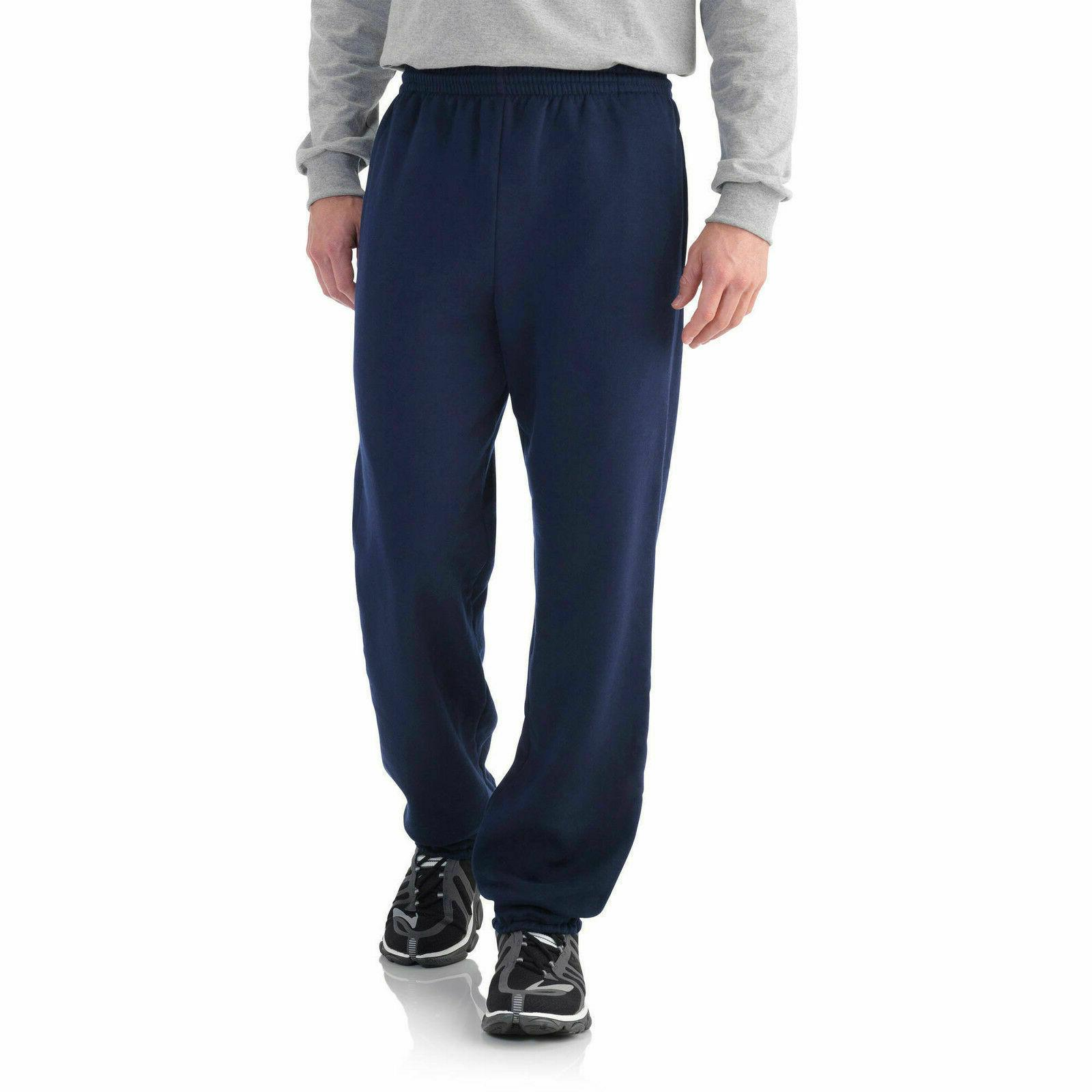 fleece elastic bottom pant